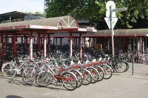 Fahrradparken in Köln