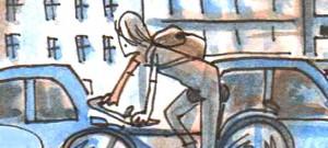 Zeichnung: Joel Cairo / www.fahrradjournal.de