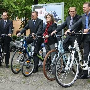 Kampagnenreiter / Foto: wscher / www.fahrradjournal.de