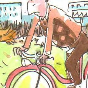 Wie man jetzt Radfahren soll