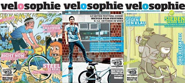 Cover: velosophie