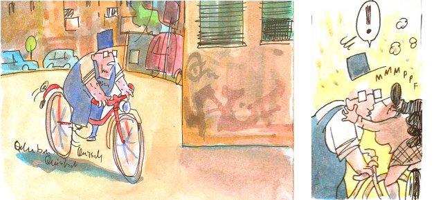 Zeichnung by Joel Cairo / www.fahrradjournal.de