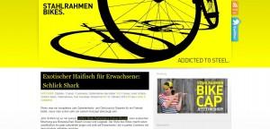 Screenshot: Stahlrahmen Bikes