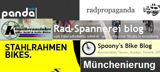 Topliste Deutscher Fahrradblogs