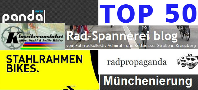 Top 50 German Bike Blogs 2012