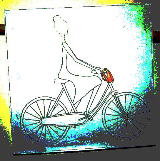 Foto: wscher / Zeichnung: Krisztina Oravecz / www.fahrradjournal.de