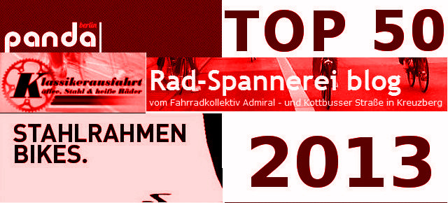 Top 50 German Bike Blogs 2013