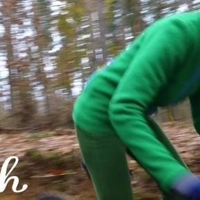 Farbenprächtige Walkjacken für Radfahrer